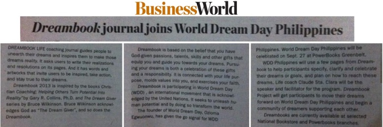 BusinessWorld article collage