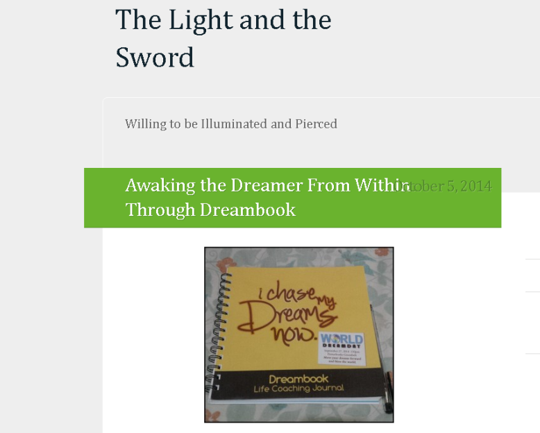 Light and Sword blog part1